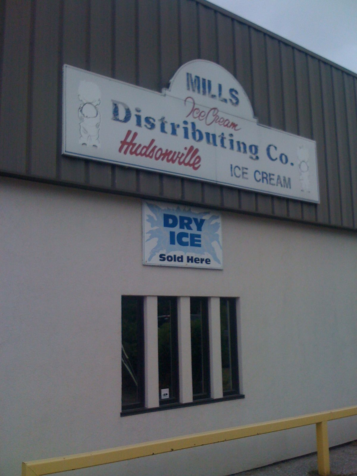 Where to get Ice Cream and Dry Ice in Muskegon   DrKnife iPhone Photo Blog